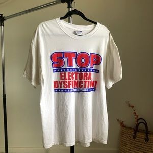 Vintage Funny Political Tee from 2000